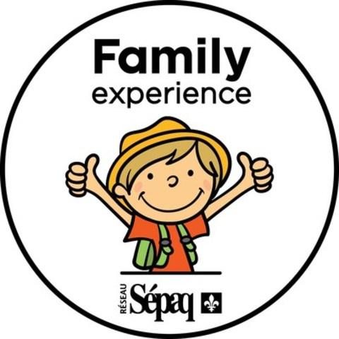 Logo: Family Experience Marker (CNW Group/Société des établissements de plein air du Québec)