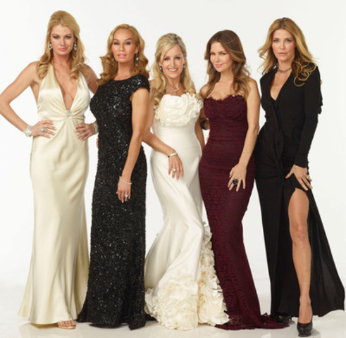 Cast of The Real Housewives of Vancouver (From left to right: Christina, Reiko, Jody, Mary and Ronnie) (CNW ...