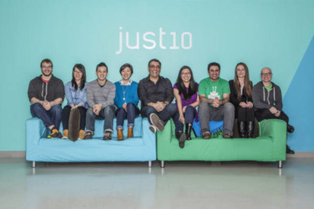 The team behind Just10 came up with the idea when they realized that there were two internets, the one they were building at work, and the more private, free internet they wanted for themselves. (CNW Group/Just10)