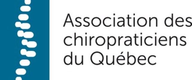 Logo : Association des chiropraticiens du Québec (Groupe CNW/Association des chiropraticiens du Québec)