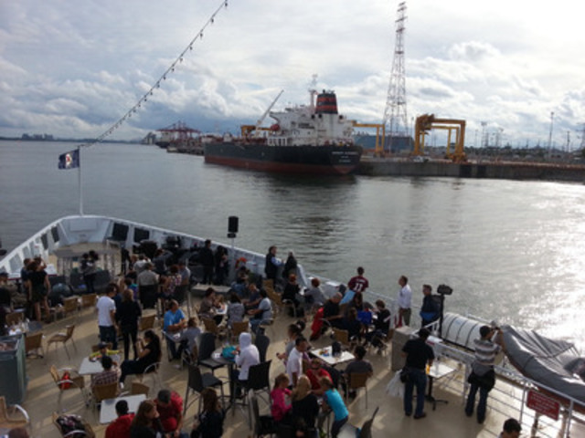 La Journée Port en ville, 6 septembre 2014 (Groupe CNW/Administration portuaire de Montréal)