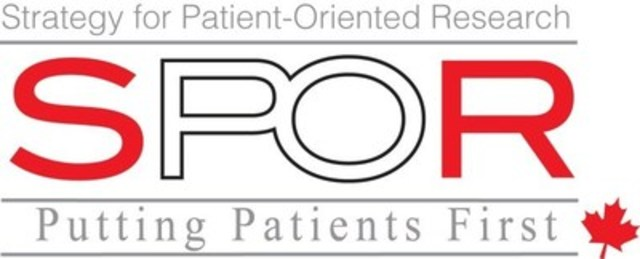 Logo : Strategy for Patient-Oriented Research - SPOR (CNW Group/Canadian Institutes of Health Research)