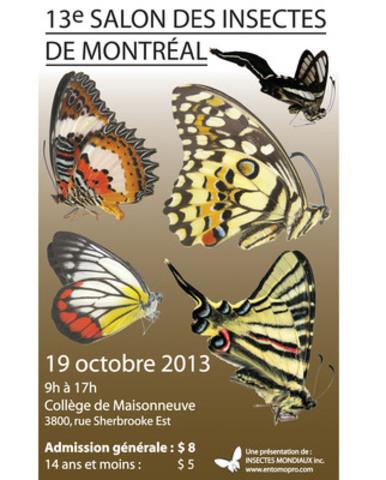 Salon des Insectes de Montréal (Groupe CNW/Insectes mondiaux inc.)