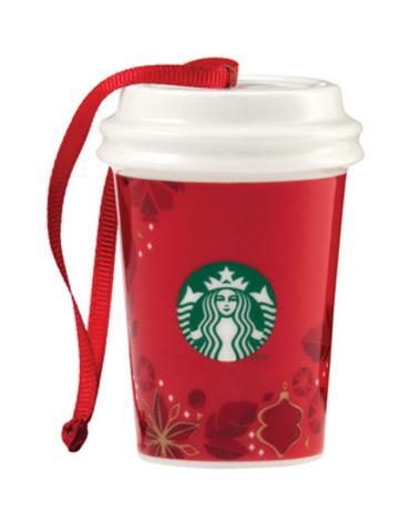 Décoration de Noël Starbucks® (Groupe CNW/Starbucks Coffee Canada)