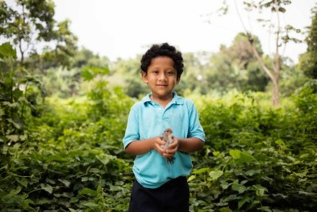 Thanks to residents of Saskatchewan, more children like Josue from Guatemala have a promising future (CNW Group/World Vision Canada)