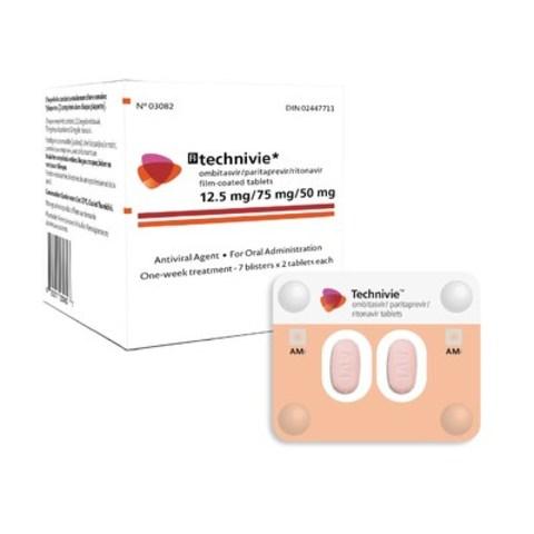 AbbVie's TECHNIVIE™ Receives Health Canada Approval (CNW Group/AbbVie)