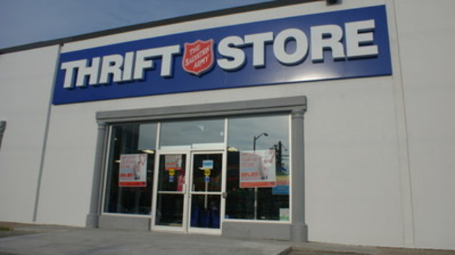 National Thrift Shop Day. (CNW Group/The Salvation Army)