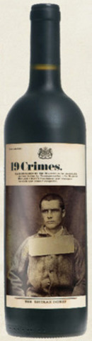 John Boyle O'Reilly, the face of 19 Crimes 2012 Shiraz Durif blend now available in select wine regions across Canada. (CNW Group/19 Crimes)
