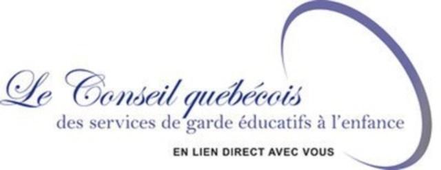 Logo : Conseil québécois des services de garde éducatifs à l'enfance (Groupe CNW/Conseil québécois des services de garde éducatifs à l'enfance (CQSGEE))