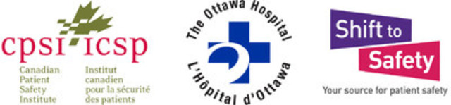 Canadian Patient Safety Institute, The Ottawa Hospital, Shift to Safety (CNW Group/Canadian Patient Safety Institute)