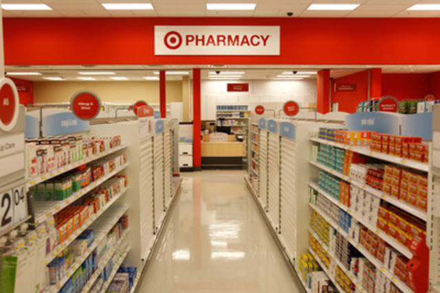Target Pharmacists Help Guests Conquer Allergy Season (CNW Group/Target Canada)
