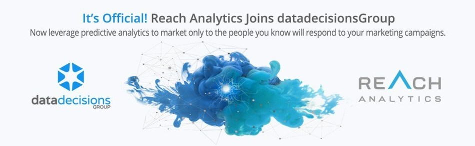 Data Decisions Group, a leading provider of data, research and marketing services, announced their acquisition of Reach Analytics, a predictive marketing technology startup in Silicon Valley.