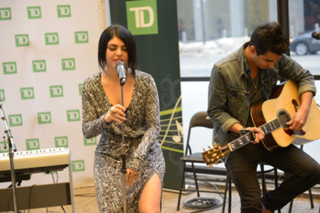 """Rising star and songstress KAI lends her support to TD Music at TD's 10th anniversary """"For the Love of Music"""" concert event (CNW Group/TD Bank Group)"""