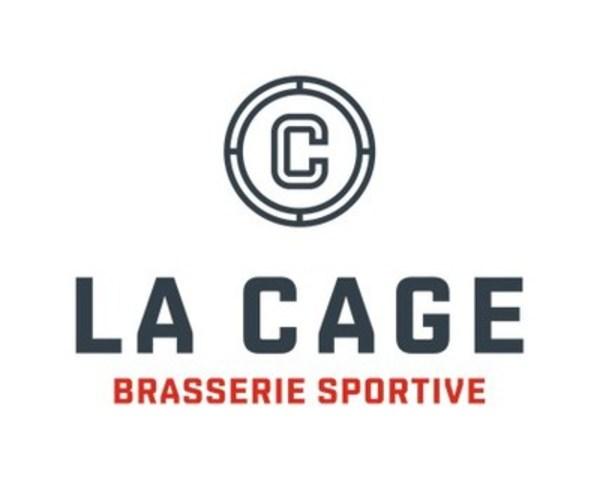 Logo : La Cage - Brasserie sportive (Groupe CNW/La Cage - Brasserie sportive)