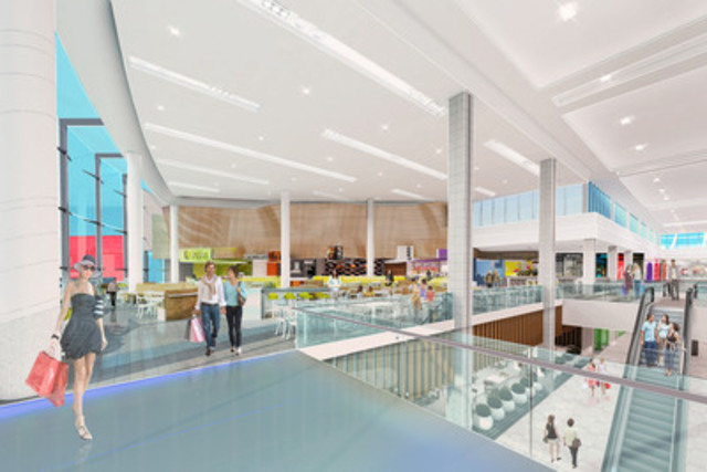 Erin Mills Town Centre Food Court (CNW Group/CEDA International Corporation) (CNW Group/Erin Mills Town Centre)