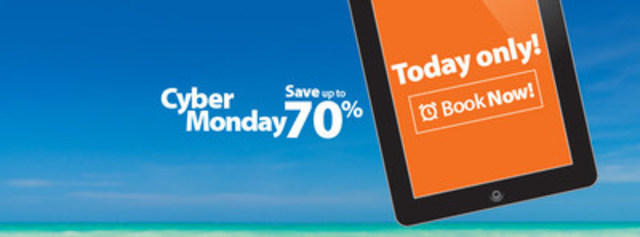 Cyber Monday (CNW Group/Sunwing Vacations)