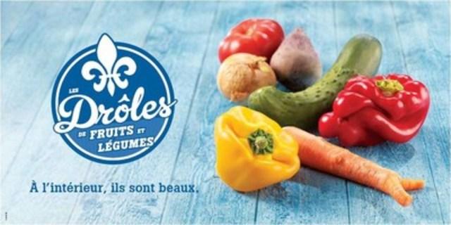 Drôles de fruits et légumes (Groupe CNW/Sobeys Québec)
