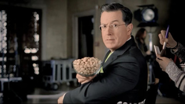 Video: Stephen Colbert previews Wonderful Pistachios' upcoming Super Bowl spot