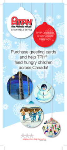 TPH® Charitable Greeting Cards are available for purchase by contacting your local TPH® location. Visit tph.ca for more information on how you can give cards that give back! (CNW Group/The Printing House Limited)