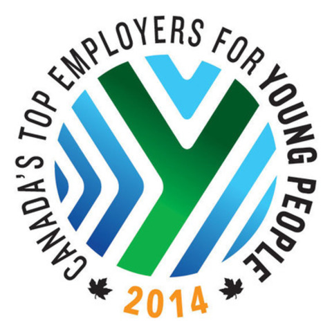 Canada's Top Employers for Young People (2014) (CNW Group/Mediacorp Canada Inc.)