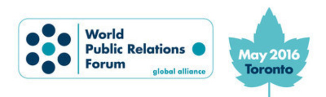 World Public Relations Forum (WPRF) Logo (CNW Group/Canadian Public Relations Society)