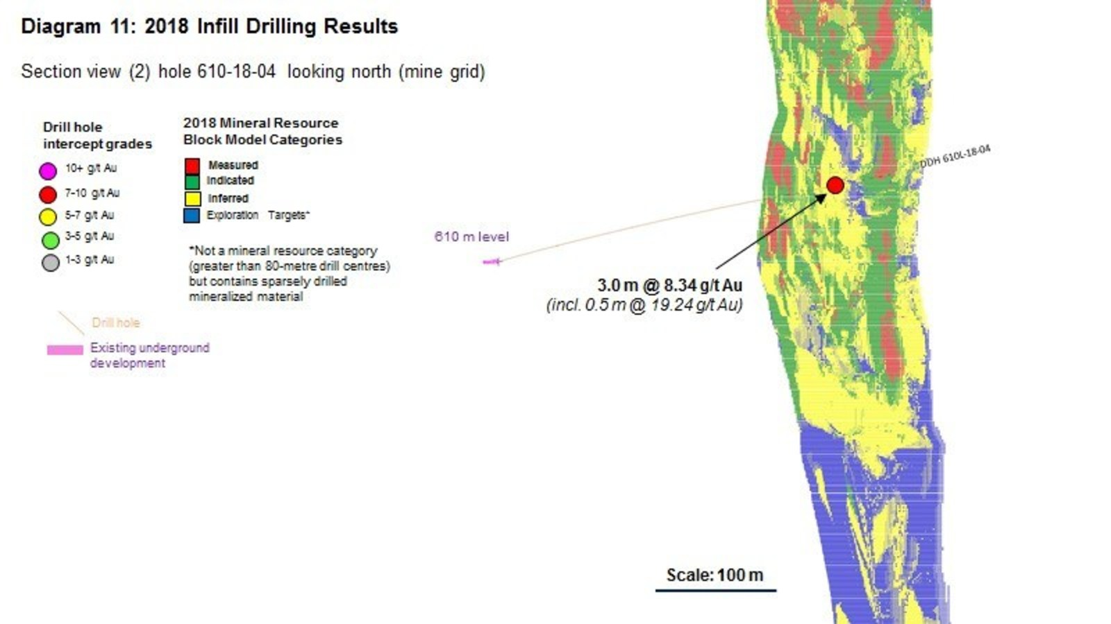 Diagram 11 : 2018 Infill Drilling Results