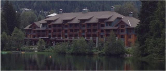 Image of Nita Lake Lodge a Phase II Property in Whistler British Columbia (CNW Group/Beware at Whistler)