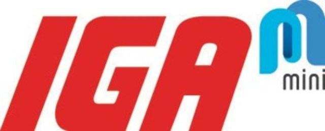 Logo : IGA mini (Groupe CNW/IGA express)