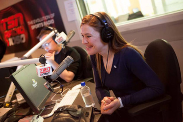 Clara Hughes, Bell Let's Talk national spokesperson. (CNW Group/BELL CANADA)