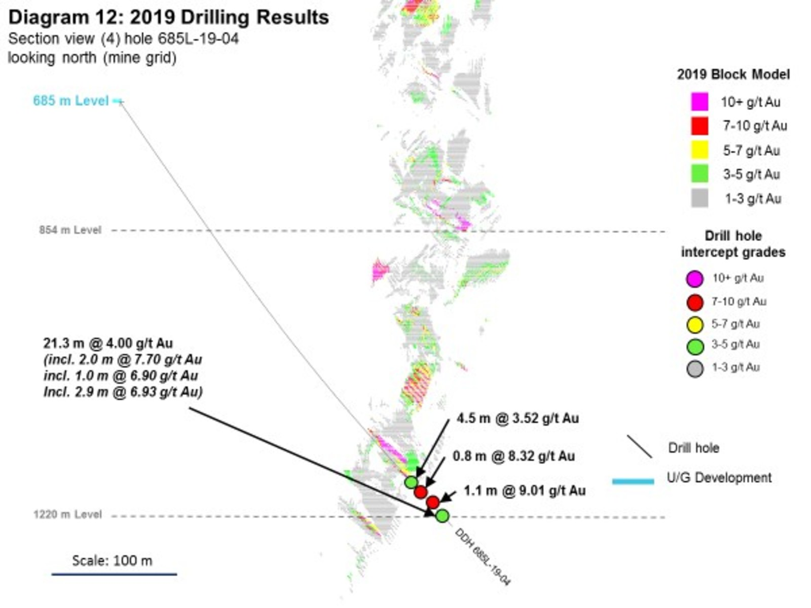 Diagram 12: 2019 Drilling Results
