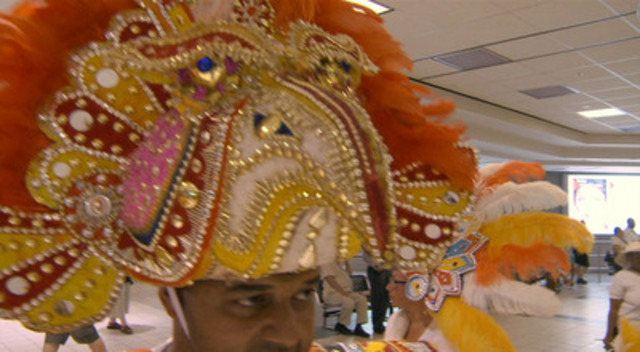 Video: Toronto Pearson guests were surprised and delighted by a Caribbean Carnival parade through Terminals 1 & 3 on Tuesday afternoon as part of the kick off for the Scotiabank Toronto Carribbean Carnival