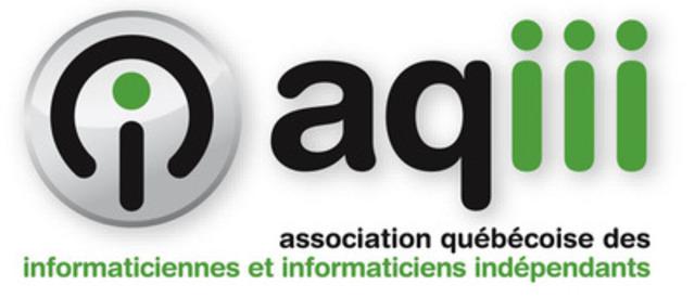 Logo of the Association québécoise des informaticiennes et informaticiens indépendants. (CNW Group/Association québécoise des informaticiennes et informaticiens indépendants)