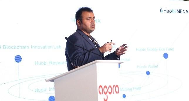 Huobi MENA Speaks At the UAE's Global Blockchain Congress