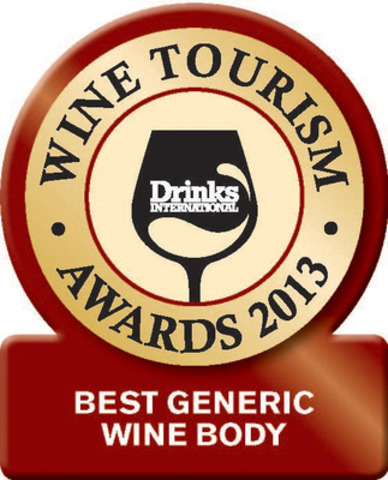 Wine Tourism Award 2013-Best Generic Wine Body (CNW Group/Wine Country Ontario)