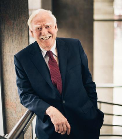 Robert Parizeau, le premier président du conseil du Fonds de solidarité FTQ indépendant du Fonds, de la FTQ ou de ses syndicats affiliés (Groupe CNW/Fonds de solidarité FTQ)