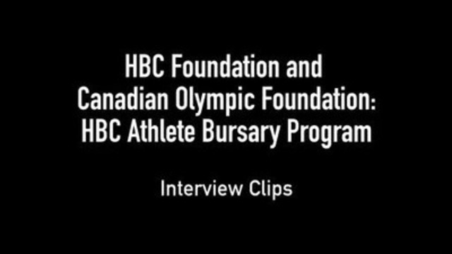 VIDEO: HBC Foundation and the Canadian Olympic Foundation announce new $2.5 million bursary program for Canadian athletes
