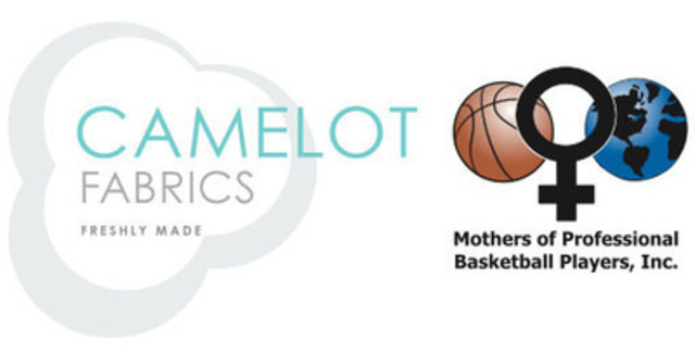 CAMELOT FABRICS partners with the Mothers of Professional Basketball Players (MPBP) for charitable cause (CNW Group/Camelot Fabrics)