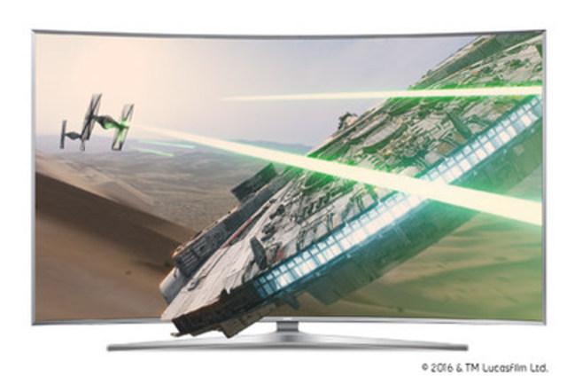 Le lancement d'À vous sur Bell a lieu aujourd'hui, mettant en vedette la superproduction Star Wars : Le Réveil de la Force (Groupe CNW/Bell Canada)