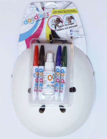Doodlezz Helmet (CNW Group/Stoneridge Cycle Ltd.)