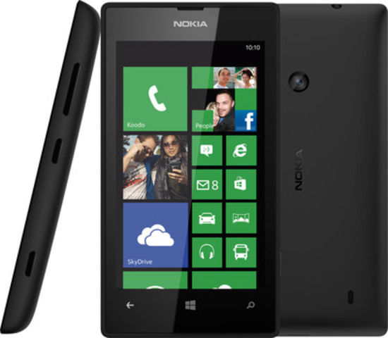 Nokia Lumia 520 on Koodo (CNW Group/Nokia Canada)