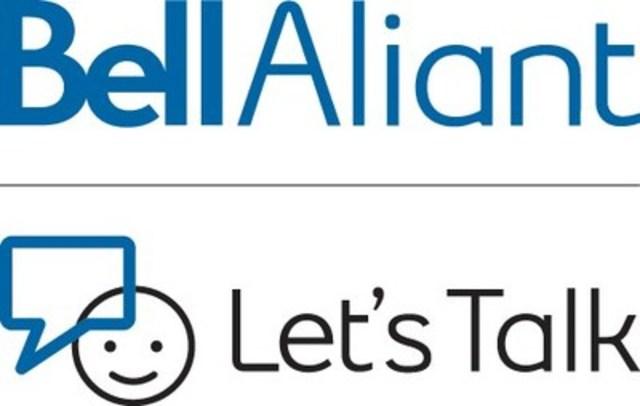 Logo: Bell Aliant Let's Talk (CNW Group/Atlantic University Sport (AUS))