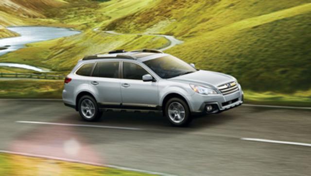 Outback 2014 (Groupe CNW/Subaru Canada Inc.)