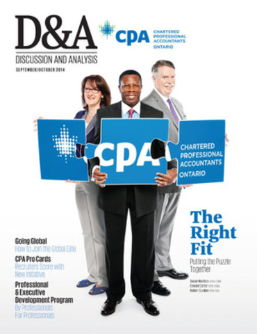 D&A Magazine (CNW Group/Chartered Professional Accountants of Ontario)