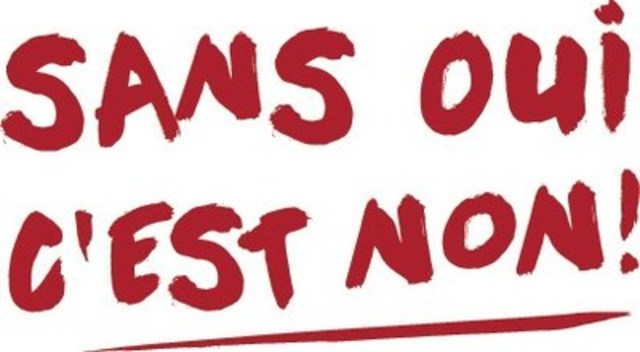 Sans oui, c'est non! (Groupe CNW/FEDERATION DES ASSOCIATIONS ETUDIANTES DU CAMPUS DE L'UNIVERSITE DE MONTREAL)