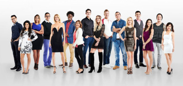 The new cast of Big Brother Canada enter the house in the season three premiere on Monday, March 23 at 8pm ET/PT on Global. (CNW Group/Global Television)