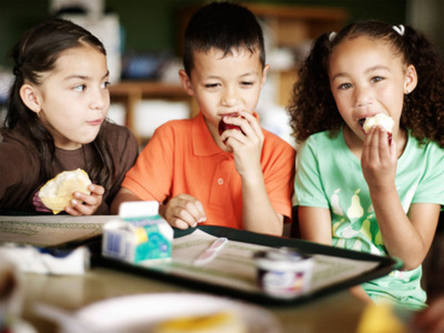 $1 equals a nutritious breakfast for a child. (CNW Group/Breakfast Clubs of Canada)
