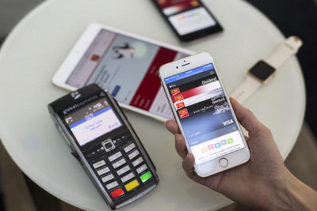 La Banque CIBC lance Apple Pay pour les clients à compter d'aujourd'hui (Groupe CNW/CIBC - Entreprise)