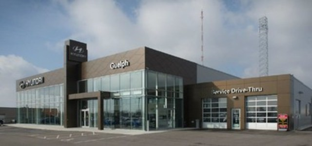 Guelph Hyundai (CNW Group/AutoCanada Inc.)