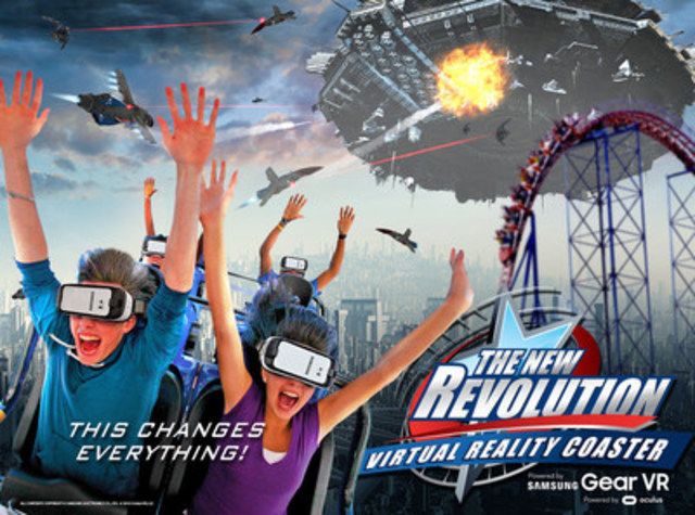 New Revolution (CNW Group/La Ronde)