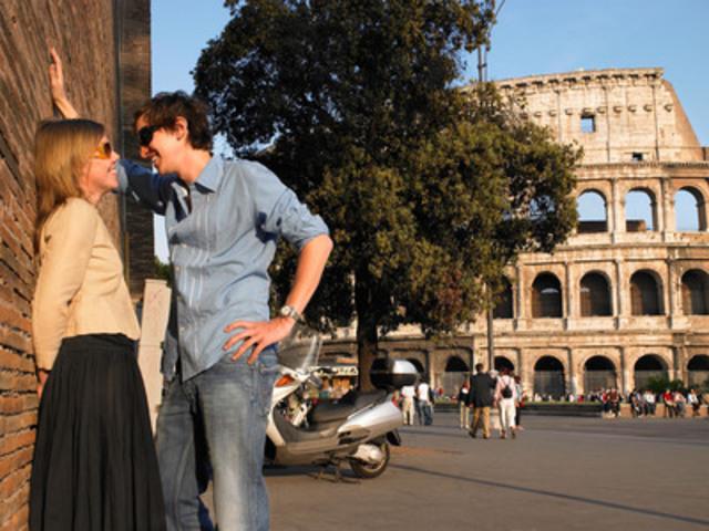 Rome a remporté les honneurs, battant la Ville Lumière, comme destination la plus prisée pour passer une nuit gratuite (Groupe CNW/Hotels.com)
